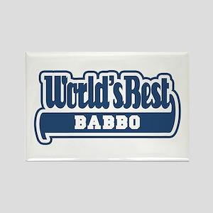 WB Dad [Italian] Rectangle Magnet